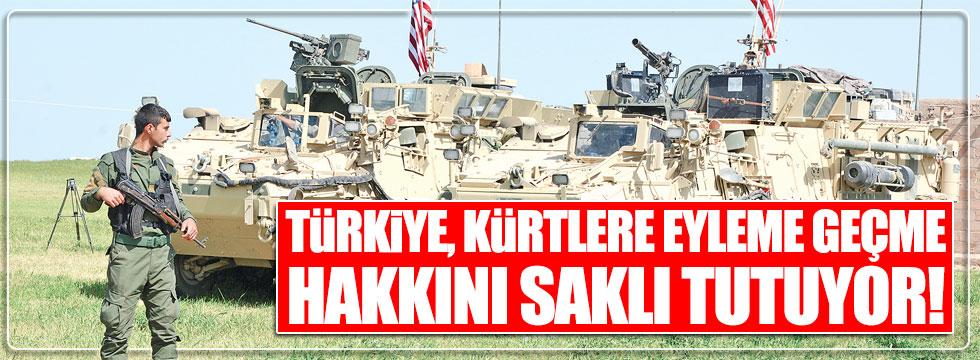 WP: Türkiye, Kürtlere eyleme geçme hakkını saklı tutuyor
