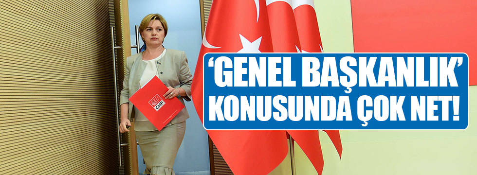 Böke'den 'Genel Başkanlık' açıklaması!