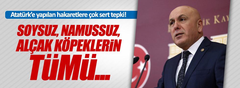 Atatürk'e hakarete Ok'tan çok sert tepki