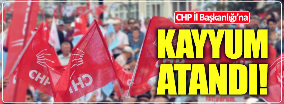CHP Bolu İl Başkanlığı'na kayyum atandı