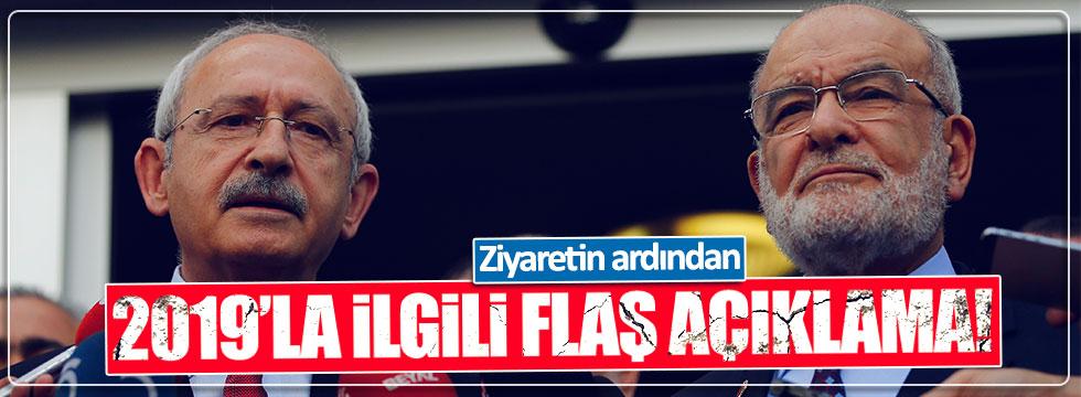 Karamollaoğlu ve Kılıçdaroğlu'ndan 2019 açıklaması