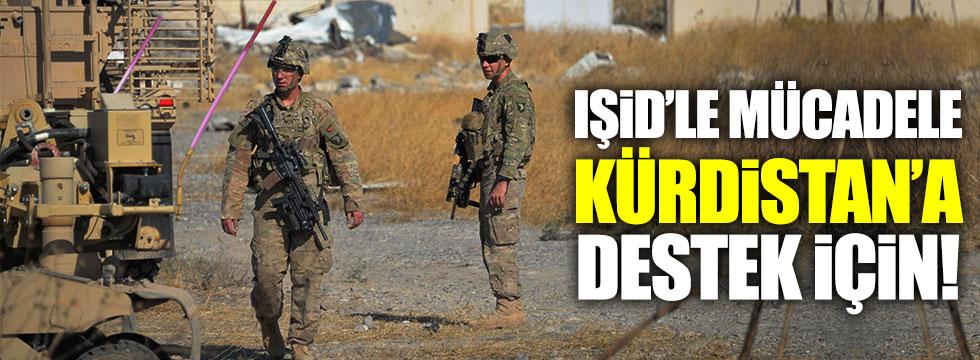 IŞİD'le mücadele Kürdistan'a destek için!