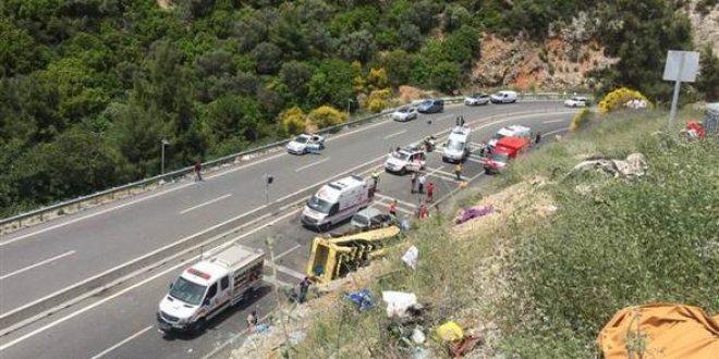 Muğla'daki kazaya ilişkin Erdoğan'dan açıklama