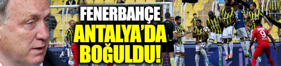 Fenerbahçe 0-1 Antalyaspor (Maç Özeti)