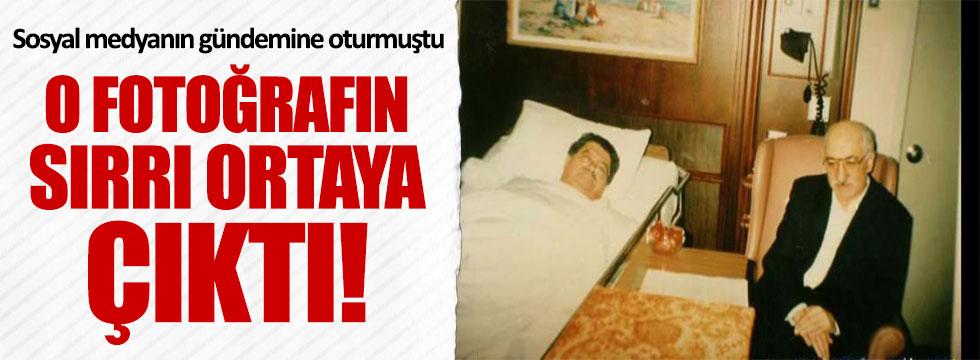 Turgut Özal ve Fethullah Gülen'in fotoğrafının sırrı ortaya çıktı