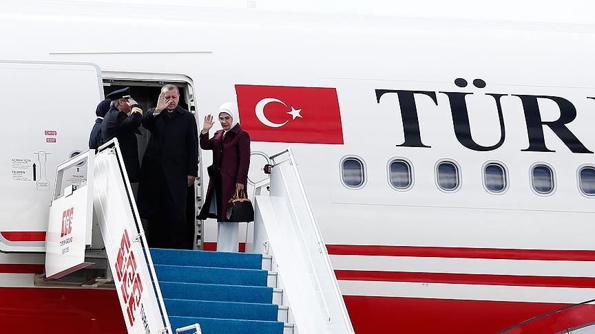 Erdoğan ABD'ye hareket etti