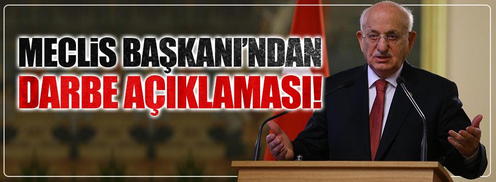 Meclis Başkanı İsmail Kahraman'dan 'darbe' açıklaması