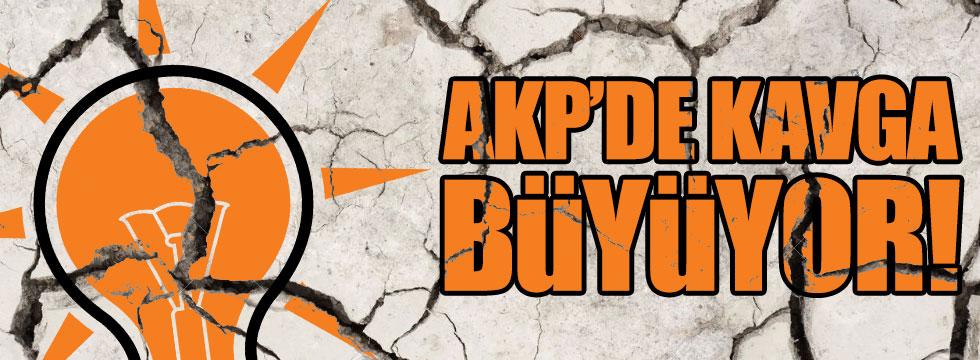 AKP içindeki çatlak büyüyor