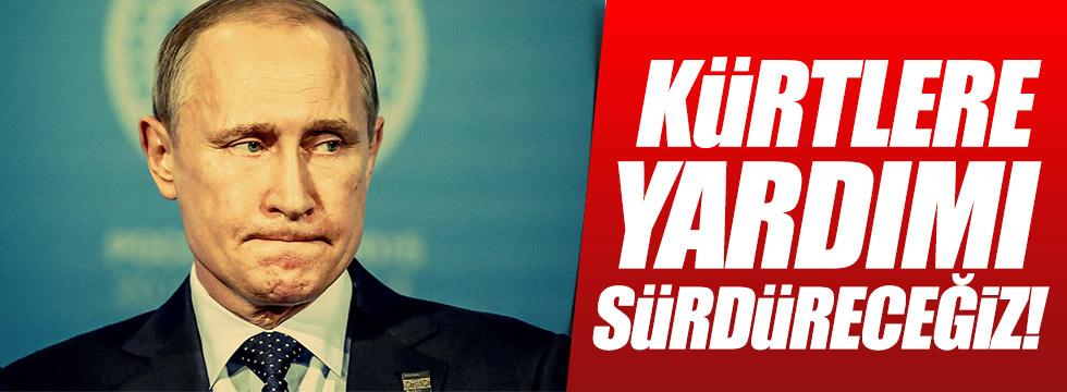 Putin: Kürtlere desteğimiz devam edecek