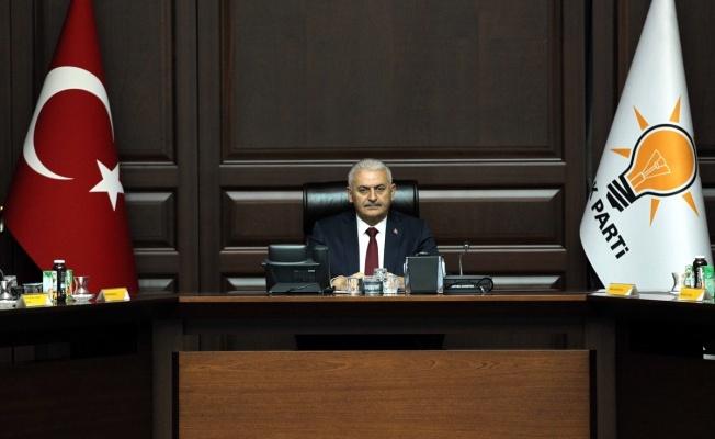 AKP'de Binali Yıldırım'la Son Toplantı