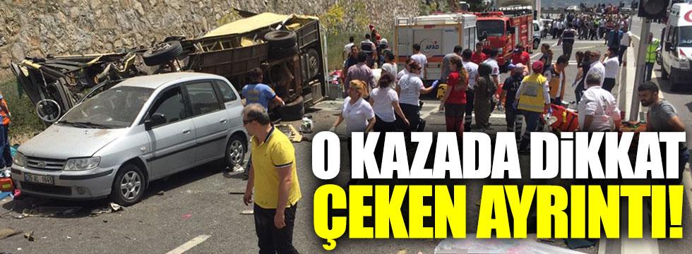 24 kişinin öldüğü kazayla ilgili korkunç iddia!