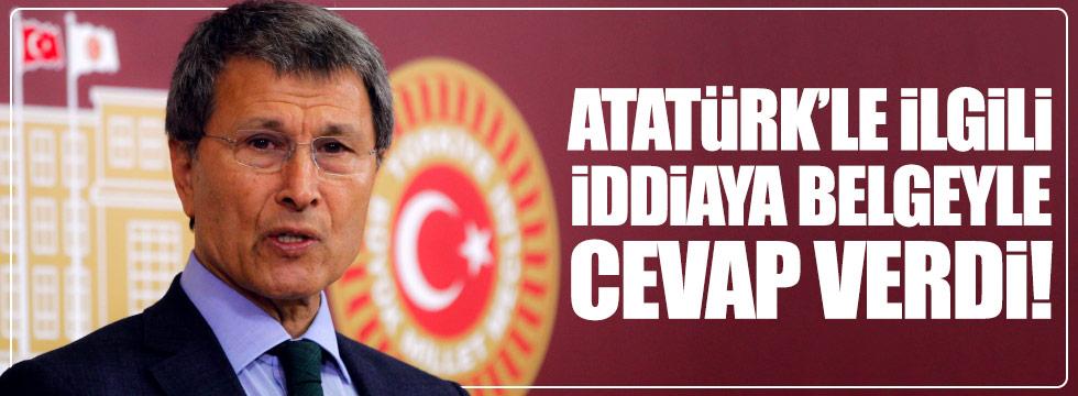 Yusuf Halaçoğlu'ndan Atatürk'le ilgili iddialara belgeli cevap!