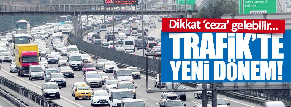 Trafikte yeni 'hız tespit' dönemi