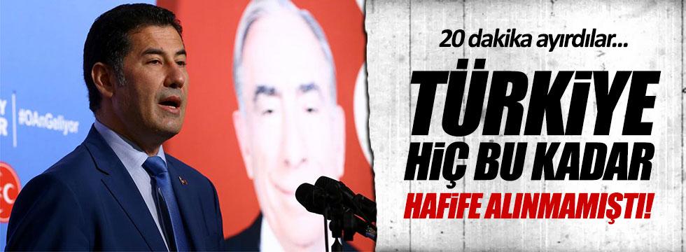 """Oğan: """"Türkiye hiç bu kadar hafife alınmamıştı!"""""""