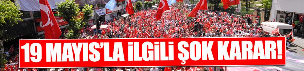 Valilik, İzmir'de 19 Mayıs kutlamalarını iptal etti