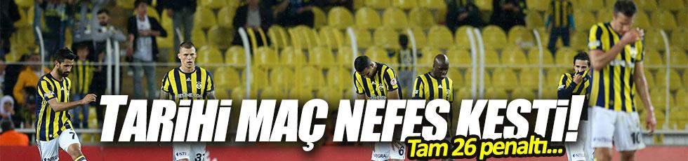 Fenerbahçe 2-2 Başakşehir / Maç Özeti
