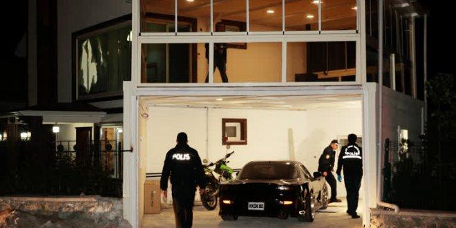 İş adamının evine kalaşnikoflu saldırı