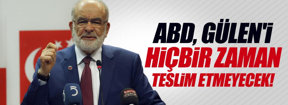 """Karamollaoğlu: """"ABD Gülen'i teslim etmeyecek"""""""