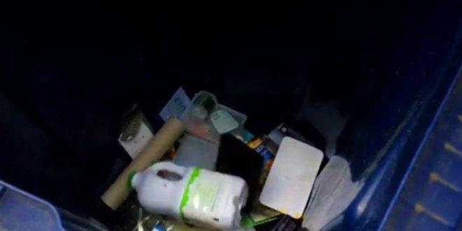 Plastik atıklardan yol yapıldı