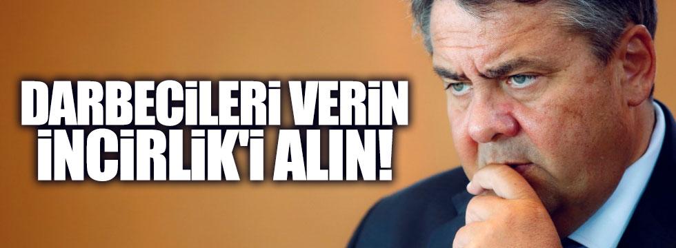 """Alman Bakan açıkladı: """"Türkiye'den İncirlik şartı"""""""