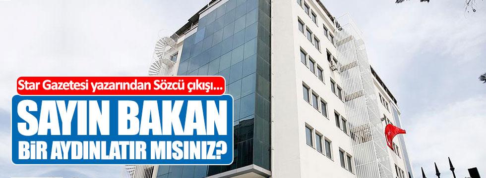 Star Gazetesi yazarından Sözcü çıkışı!