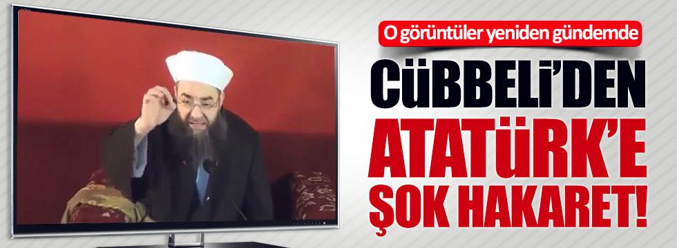 Cübbeli Ahmet'in Atatürk'e hakaret görüntülerine büyük tepki