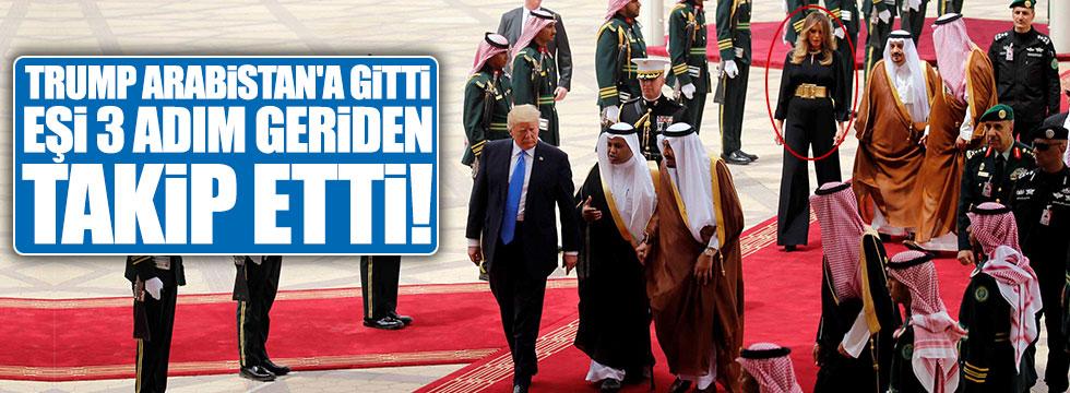 Trump'ın Suudi Arabistan ziyaretinde Melanie Trup detayı
