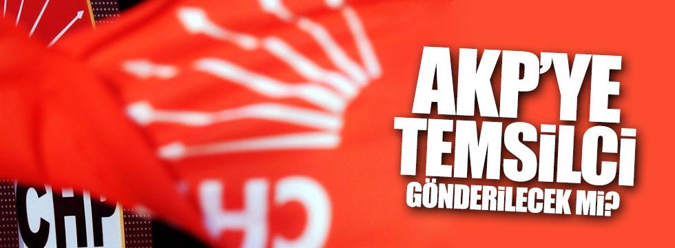 CHP, AKP kongresine temsilci gönderecek mi?