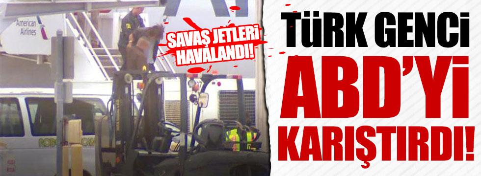 Türk genci ABD'yi ayağa kaldırdı