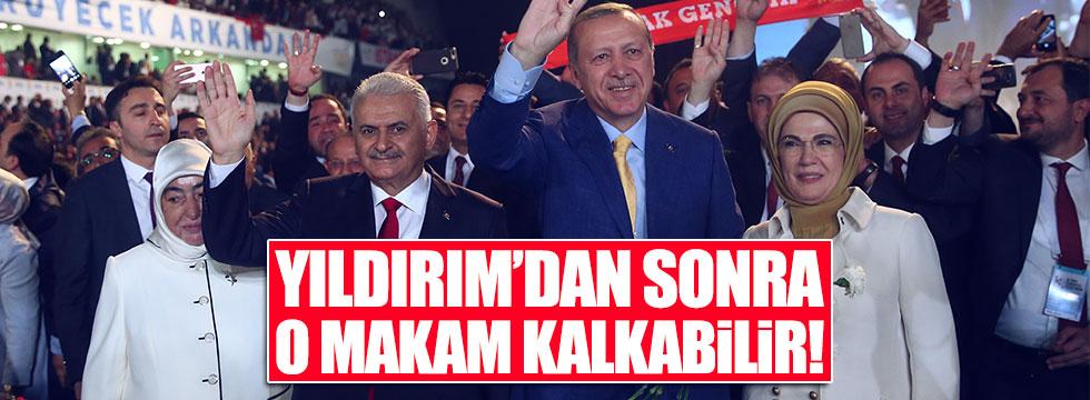 AKP'li Şahin: Binali Yıldırım'dan sonra o makam kalkabilir