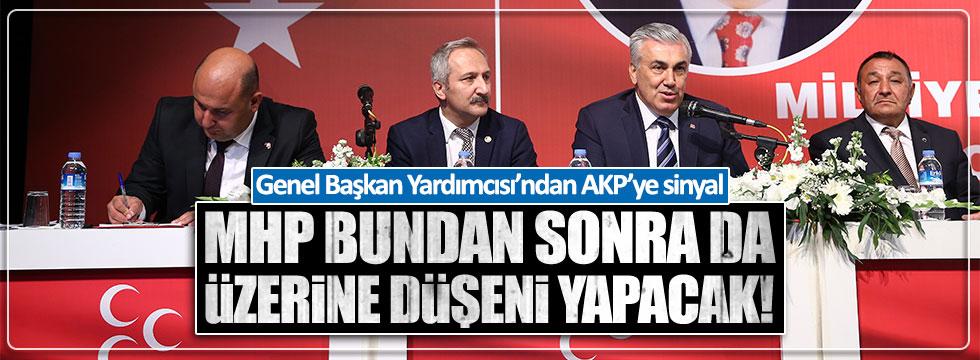 Genel Başkan Yardımcısı Günal: MHP yine yol gösterici parti olacak