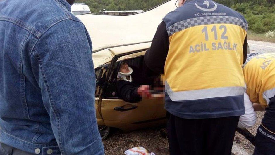 Bursa'da korkunç kaza: 3 ölü 9 yaralı