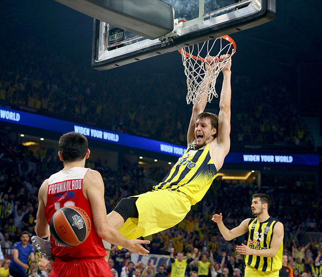 Fenerbahçe Euroleague şampiyonu!
