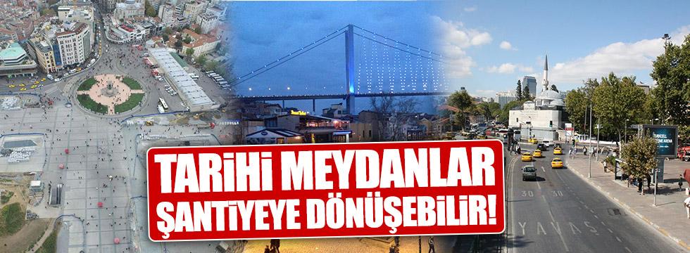 İstanbul'un 30 meydanına yeni proje
