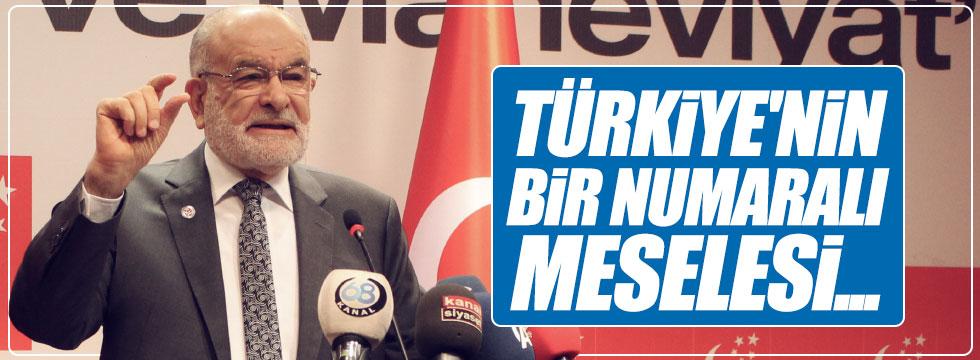 """Karamollaoğlu: """"Türkiye'nin bir numaralı meselesi kutuplaşmadır"""""""