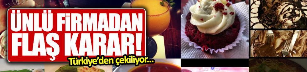 Ünlü firma Türkiye ofisini kapatıyor