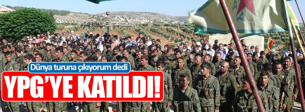 Dünya turuna çıkacağım diyen asker YPG'ye katıldı!