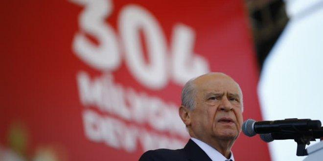"Bahçeli, "" Sayın Cumhurbaşkanımız Alanya'yı il yapsın"""