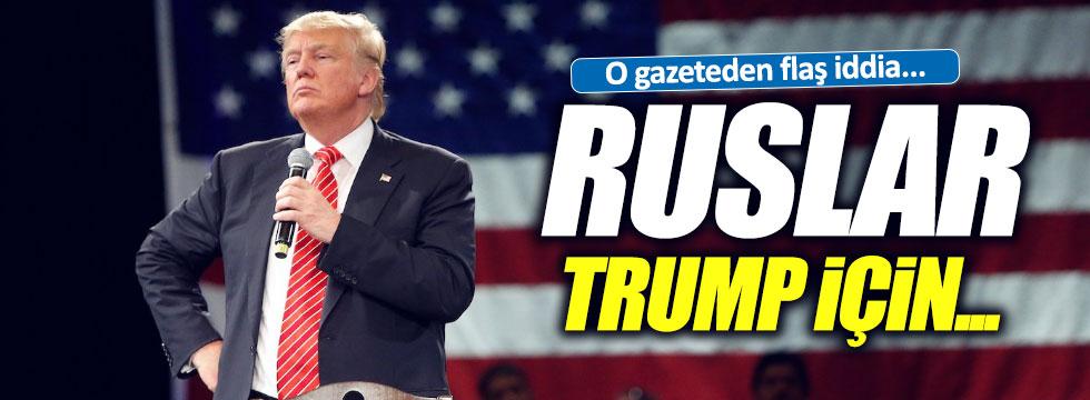 Ruslar, Trump için toplandı