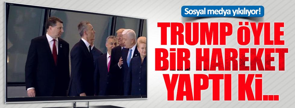 Trump, Karadağ Başbakanı'nı itti!