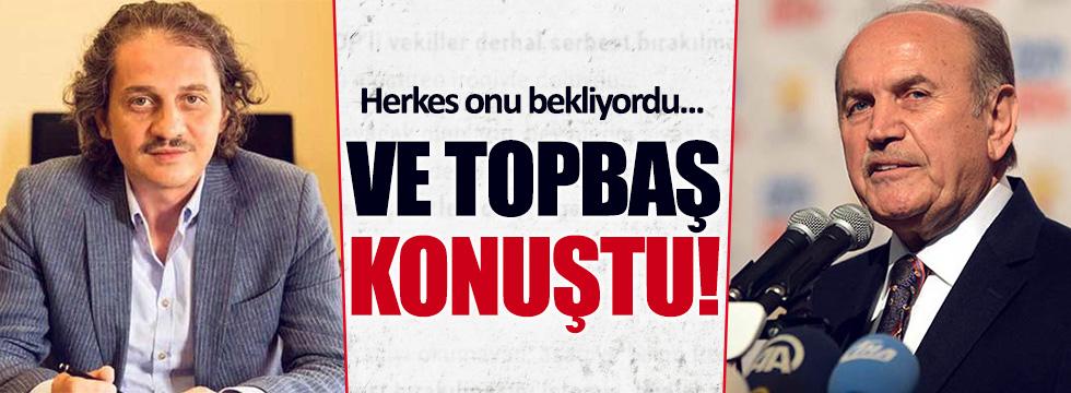 Kadir Topbaş'tan Kavurmacı açıklaması!