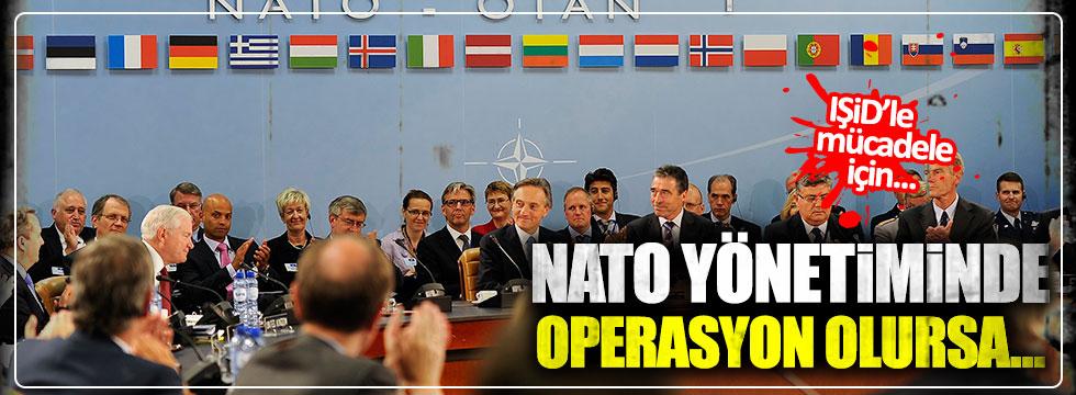 """""""IŞİD'le mücadele için NATO yönetiminde bir operasyon olursa..."""""""