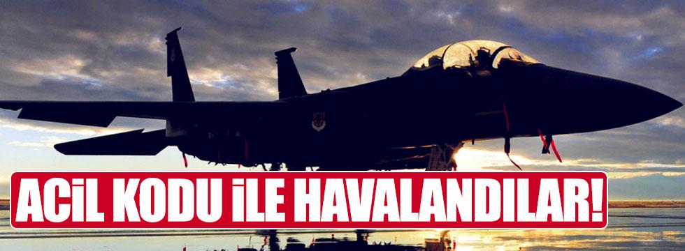 İngiltere'de jetler acil havalandı