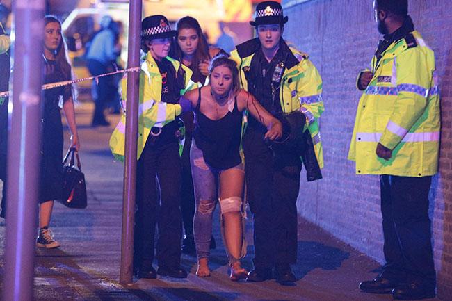 Manchester bombacısının saldırı gecesine ait fotoğrafı yayınlandı