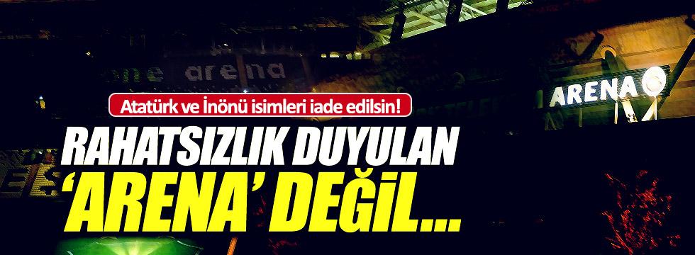 Atatürk ve İnönü adları stadyumlara iade edilsin