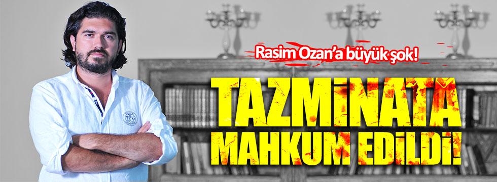 Rasim Ozan Kütahyalı'ya tazminat şoku