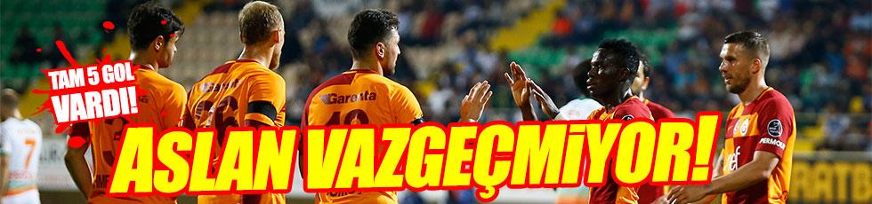 Alanyaspor 2-3 Galatasaray / Maç özeti