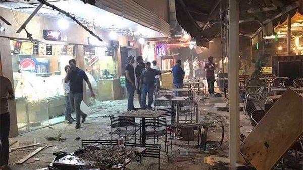 Komşu'da bombalı saldırı