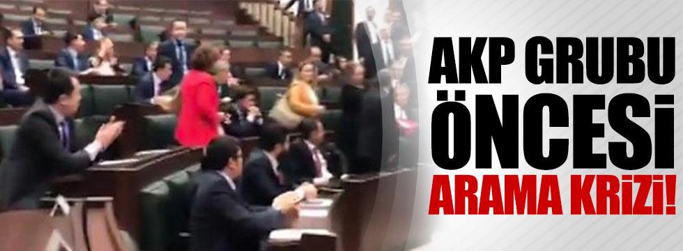 AKP'de arama gerginliği