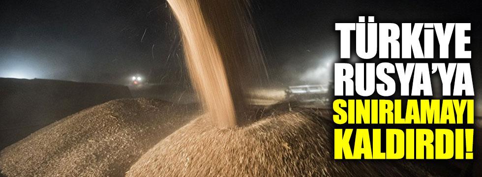 Türkiye, Rusya'dan vergisiz tarım ürünü ithalatı sınırlamasını kaldırdı